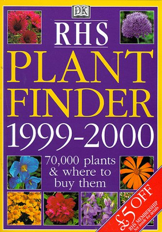 9780751306682: RHS Plant Finder 1999/2000 (Royal Horticultural Society)