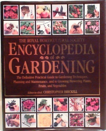 9780751313833: Royal Horticultural Society Encyclopedia of Gardening (Value Books)