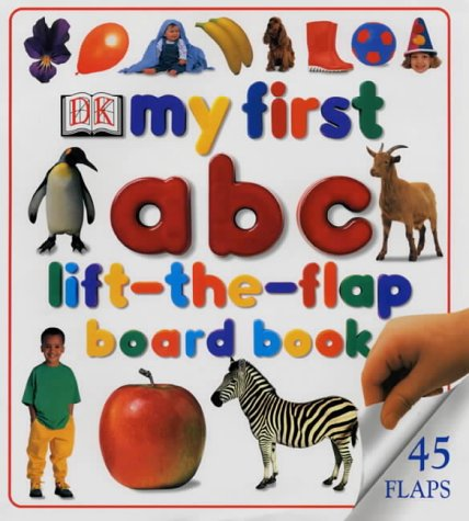 9780751314243: My First ABC Lift-The-Flap Board Book