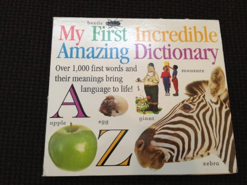 9780751315141: My First Incredible Amazing Dictionary: CD-Rom