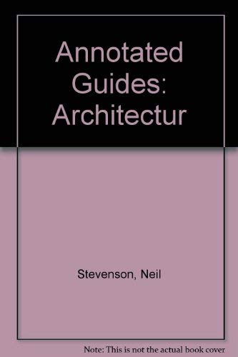 9780751330984: Annotated Guides: Architectur