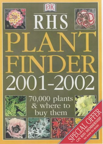 RHS Plant Finder 2001-2002 (0751332542) by unknown