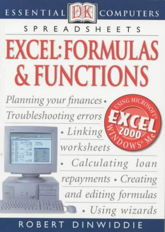 9780751337105: Excel Formulas and Functions (Essential Computers S.)