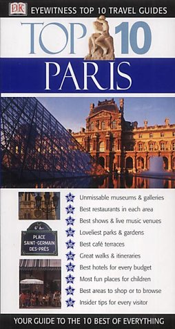 9780751338096: Paris (DK Eyewitness Top 10 Travel Guide)
