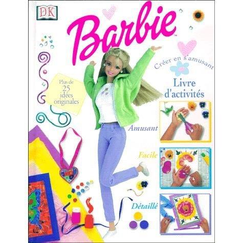 9780751349085: Livre d'activités Barbie