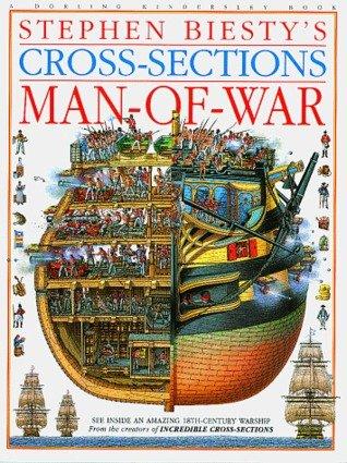 9780751350456: Stephen Biesty's Cross-sections: Man-of-War