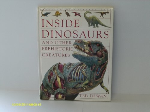 9780751350555: Inside Dinosaurs and Other Prehistoric Creatures (English and Spanish Edition)