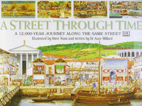 9780751355352: STREET THROUGH TIME 1st Edition - Cased