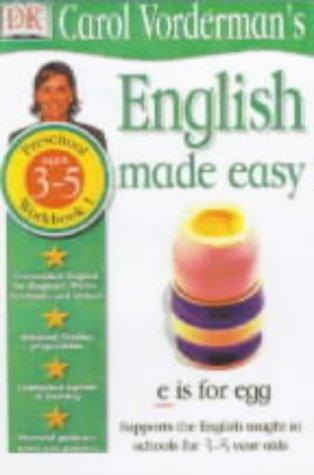 9780751358834: English Made Easy: Age 5-6 Bk.1 (Carol Vorderman's English Made Easy)