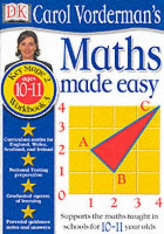 9780751359749: Maths Made Easy (Carol Vorderman) Key Stage 2, Workbook 3 Ages 10-11: Age 10-11 Bk.3