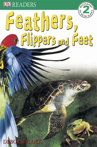 9780751367942: Feathers, Flippers and Feet (DK Reader Level 2)