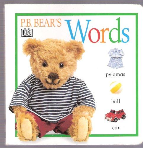 9780751370416: Pb Bear's Words Board Book