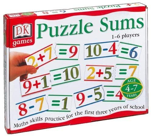 9780751374285: Puzzle Sums (DK Games)