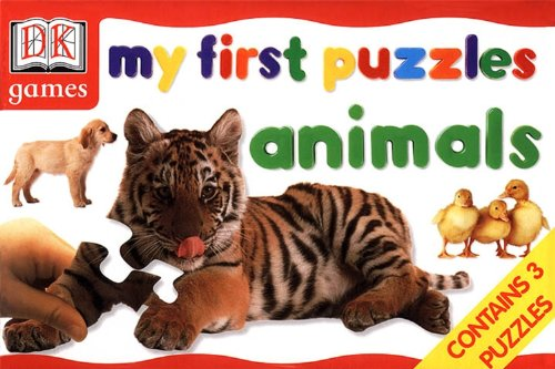 9780751374544: My First Puzzles Animal (DK Games)