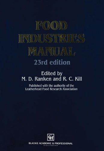 9780751400151: Food Industries Manual