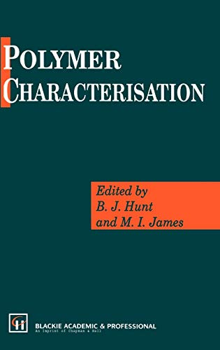 9780751400823: Polymer Characterisation