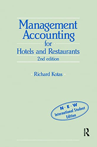 9780751401103: Management Accounting for Hotels and Restaurants