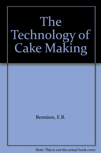 9780751401158: The Technology of Cake Making