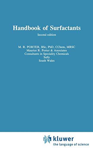 9780751401707: Handbook of Surfactants