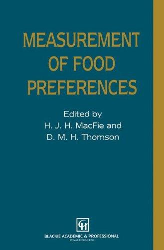 9780751401837: Measurement of Food Preferences