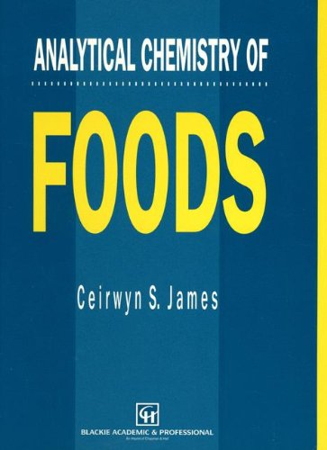 9780751401967: Analytical chemistry of foods