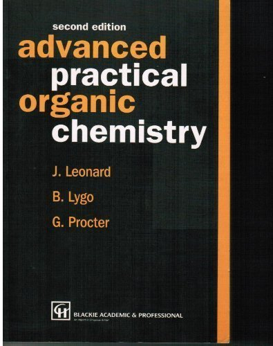 9780751402001 Advanced Practical Organic Chemistry