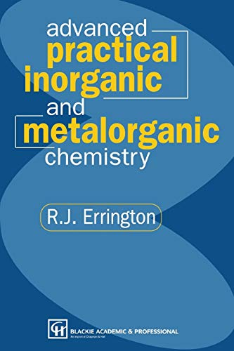 9780751402254: Advanced Practical Inorganic and Metalorganic Chemistry
