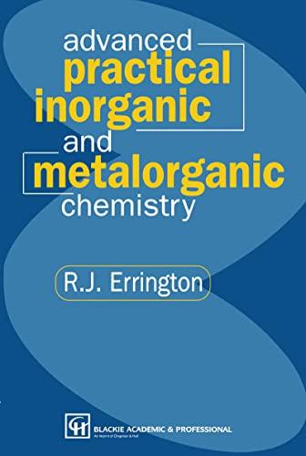 9780751402254: Advanced Practical Inorganic and Metalorganic Chemistry