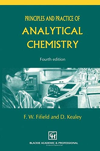 9780751402261: Principles and Practice of Analytical Chemistry