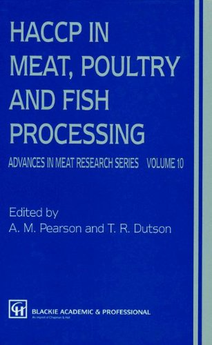 9780751402292: HACCP in meat, poultry, and fish processing (Advances in Meat Research)
