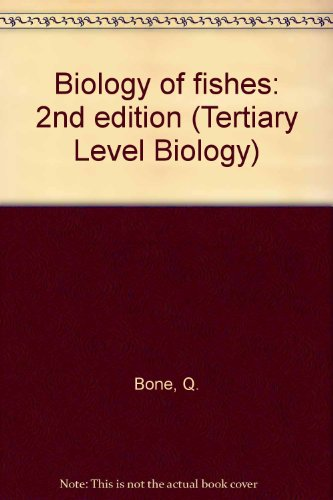 9780751402438: Biology of fishes: 2nd edition (Tertiary Level Biology)
