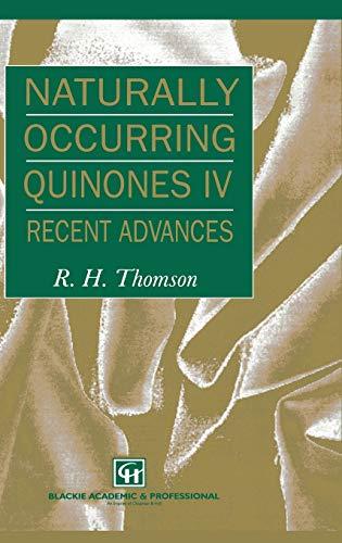 Naturally Occurring Quinones Iv Recent Advances