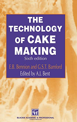 9780751403497: The Technology of Cake Making