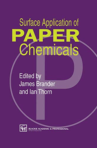 9780751403701: Surface Application of Paper Chemicals