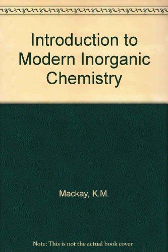 9780751403732: Introduction to Modern Inorganic Chemistry