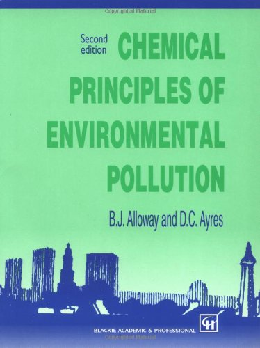 9780751403800: Chemical Principles of Environmental Pollution, Second Edition