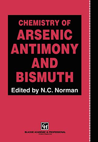 9780751403893: Chemistry of Arsenic, Antimony and Bismuth