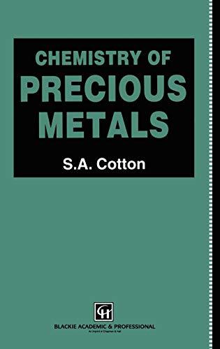 9780751404135: Chemistry of Precious Metals