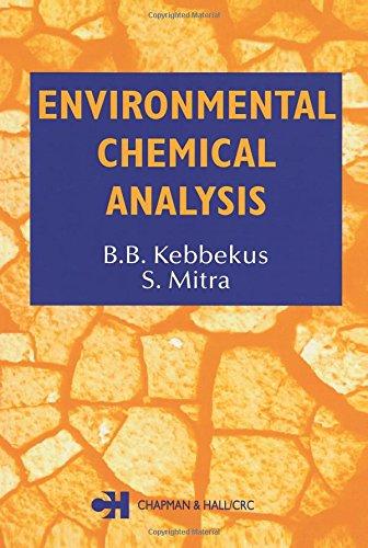 9780751404562: Environmental Chemical Analysis