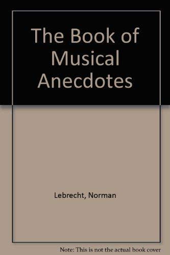 9780751502992: Book Of Musical Anecdotes