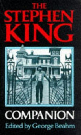 9780751506389: Stephen King Companion
