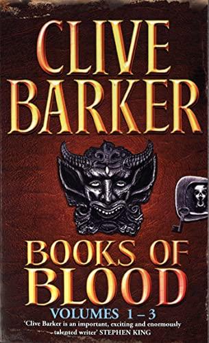 9780751510225: Books Of Blood Omnibus 1: Volumes 1-3