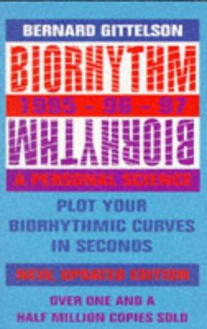 9780751513066: Biorhythm 1995-1997