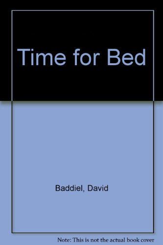 9780751521818: Time for Bed