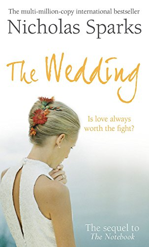 The Wedding 9780751535419 After more than 20 years of marriage, Wilson Lewis, son-in-law of Allie and Noah Calhoun (of THE NOTEBOOK) is forced to admit that the romance has gone out of his marriage. Desperate to win back his wife Jane's heart, he must figure out how to make her fall in love with him...again. Despite the shining example of Allie and Noah's marriage, Wilson is himself a man unable to easily express his emotions. A successful tax attorney, he has provided well for his family, but now, with his daughter's upcoming wedding and an impending empty nest, he is forced to face the fact that he and Jane have grown apart and he wonders if she even loves him anymore. Wilson is sure of one thing - his love for his wife has only deepened and intensified over the years. Now, with the memories of his in-laws' magnificent fifty-year love affair as his guide, Wilson struggles to find his own way back into the heart of the woman he adores.