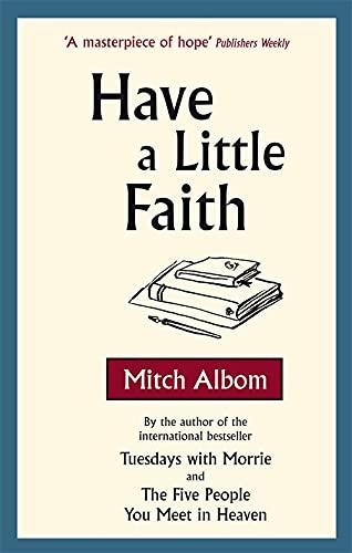 Have A Little Faith: Mitch Albom