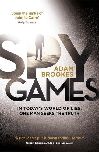 Spy Games: Brookes, Adam