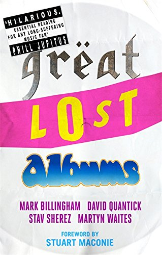 9780751557060: Great Lost Albums (The Mammoth Book of)
