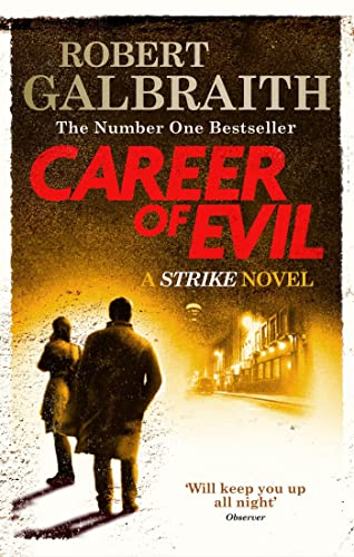 9780751563597: Career of Evil: Cormoran Strike Book 3