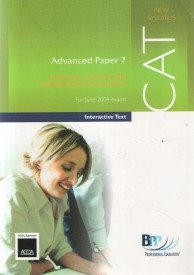 9780751711738: CAT Paper 7 Planning, Control and Performance Management: Interactive Text (Acca (Cat) Study Text)
